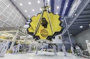 تلسكوب الفضاء جيمس ويب James Webb قد جُمع بالكامل، ويبدو أسطوريًا مرصد الفضاء السليف المنتظر لتلسكوب هابل الفضائي تلسكوب JWST