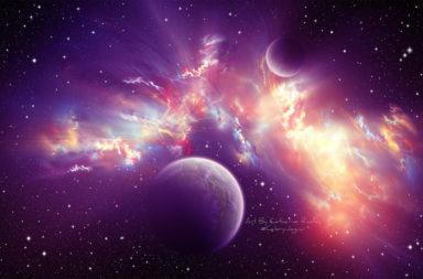 إن كان كل شيء مصنوعًا من الذرات، فما عدد هذه الذرات في الكون؟ ما هو عدد الذرات التي يحملها الكون المرصود؟ حشاب عدد ذرات الكون