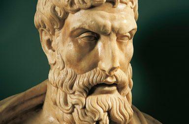 الفيلسوف أبيقور: سيرة ذاتية - مبتكر الفلسفة الأخلاقية عن المتعة البسيطة والصداقة والانعزال - المدرسة الأفلاطونية - جزيرة ساموس اليونانية