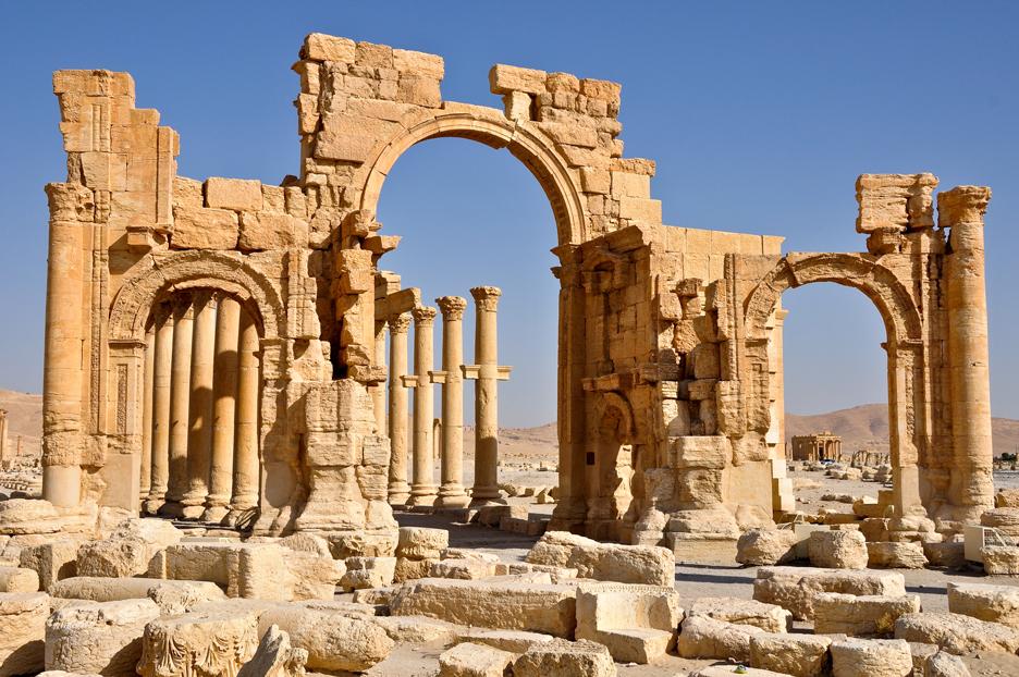 مدينة تدمر: لمحة تاريخية