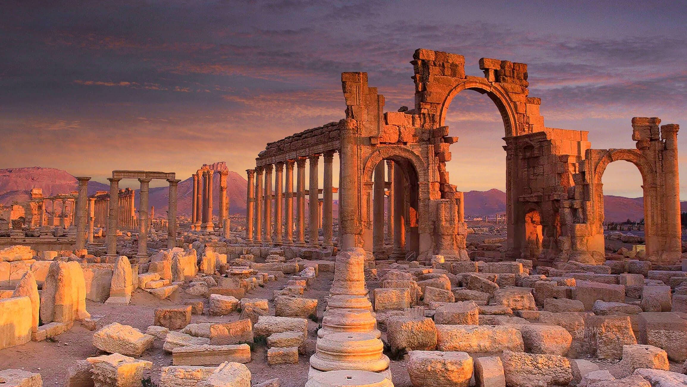 مدينة تدمر: لمحة تاريخية - حقائق تاريخية حول مدينة تدمر القديمة - متى أُدرجت المدينة في قائمة اليونسكو للتراث العالمي - الإمبراطور الروماني أورليان