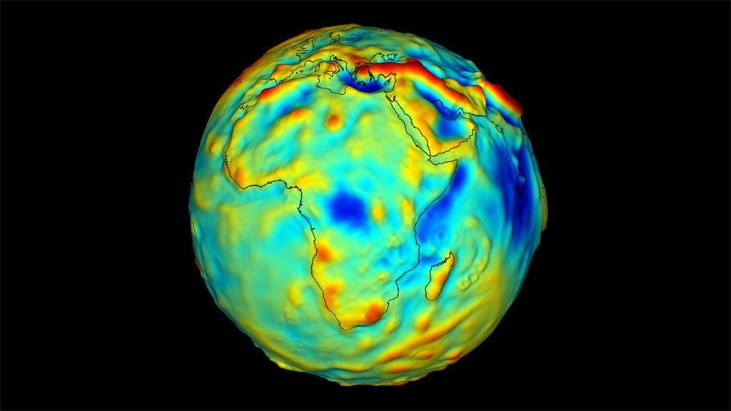 هل تختلف الجاذبية على الأرض من مكان إلى آخر ؟