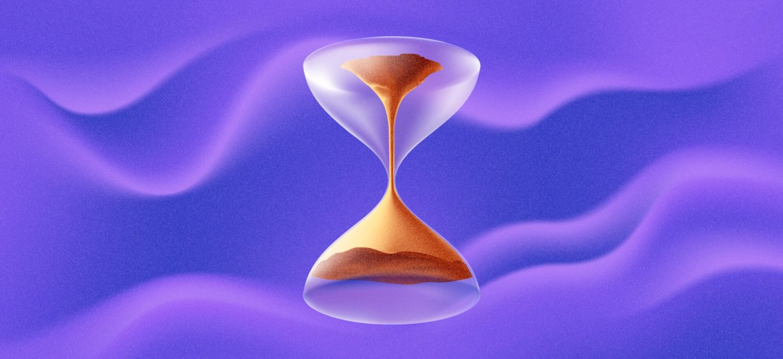 انعكاس الزمن في حالة كمية مجهولة