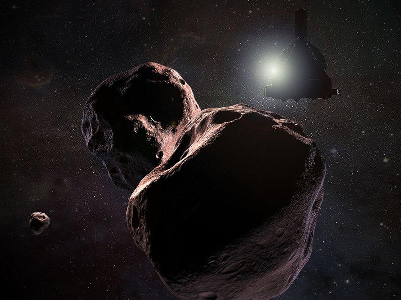 ناسا تعيد تسمية أحد الأجرام الجليدية البعيدة بسبب ارتباط الاسم السابق بالنازية