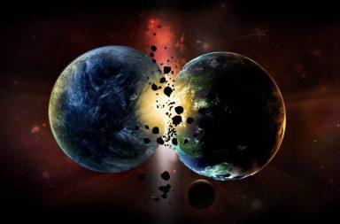 دراسة جديدة للنظائر قد تغير الجدول الزمني لولادة الأرض - كيفية تشكل الكواكب - انهيار تكتلات من سُحب الغاز والغبار تحت تأثير جاذبيتها