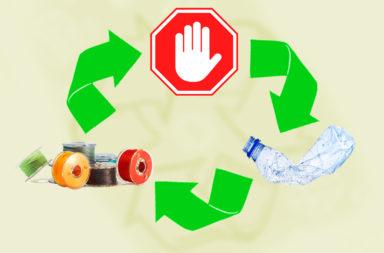 هل توجد قيود كيميائية لإعادة تدوير المواد - ترشيد الاستهلاك وإعادة الاستخدام - إعادة التدوير - قابلية الورق لإعادة التدوير