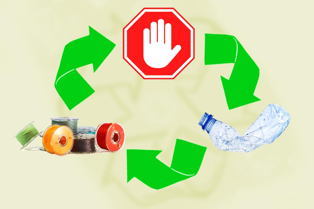 هل توجد قيود كيميائية لإعادة تدوير المواد؟