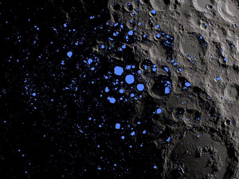 لأول مرة، تأكيد اكتشاف الماء على سطح القمر