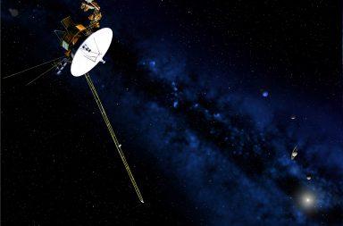 المركبة فويجر 2 تتجاوز معركة ضارية بين الرياح الشمسية والأشعة الكونية - معركة عنيفة بين الرياح الشمسية والأشعة الكونية - حدود المجموعة الشمسية