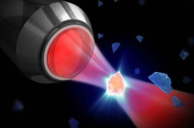 في إنجاز عظيم، نجح العلماء بخلق تشابك كمومي بين طبلة وسحابة من الذرات - ضباب خفيف من مليار ذرة سيزيوم تدور في إطار خلية صغيرة وباردة - الطبلة المليمترية