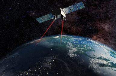 تجربة استخدام التشابك الكمي على قمر صناعي يدور حول الأرض - أنواع تطبيقات الاتصال الكمومية - التشابك الكمي والأقمار الصناعية