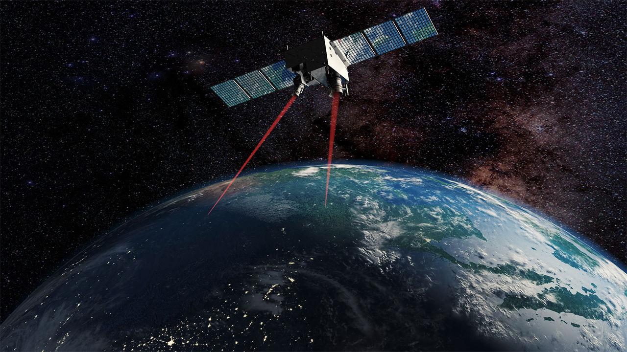 تجربة استخدام التشابك الكمي على قمر صناعي يدور حول الأرض
