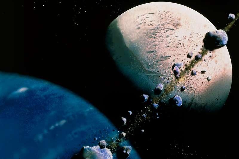 أقمار كوكب نبتون