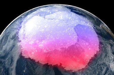 اكتشاف غبار فضائي ناجم عن المستعرات العظمى (سوبرنوفا) في القطب الجنوبي الإشعاع الكوني الغبار الكوني محطة kohnen الألمانية