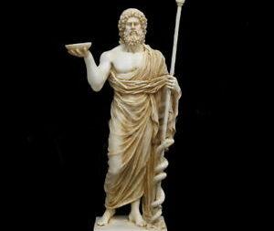 أسكليبيوس في الأساطير اليونانية الدينية القديمة - إله الطب أسكليبيوس الذي التمس فيه المرضى الشفاء في العصور اليونانية والرومانية القديمة