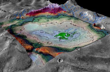 البحيرة القديمة على سطح المريخ تحولت إلى بحيرة مالحة - اكتشافات المركبة الفضائية كريوسيتي على سطح كوكب المريخ - المياه على الكوكب الأحمر