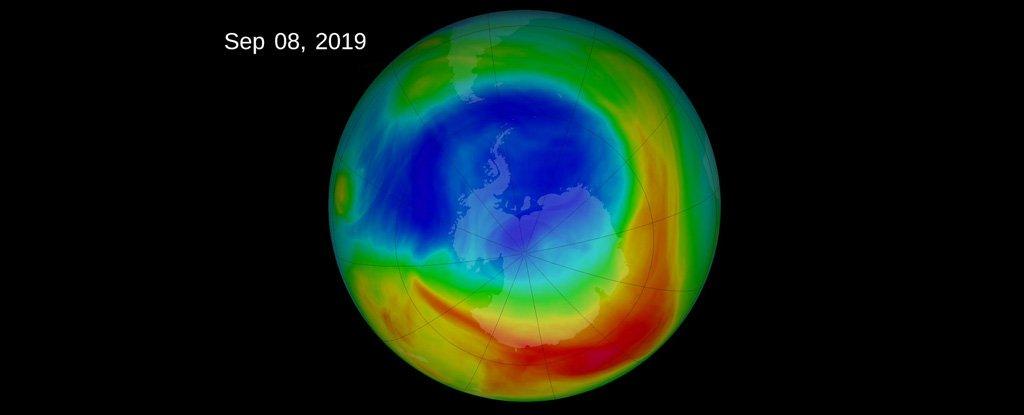 طبقة الأوزون تتعافى، وتجلب أخبارًا جيدة حول حركة الرياح العالمية - الغلاف الجوي لنصف الكرة الأرضية الجنوبي - التغيرات المقلقة في تيارات الهواء