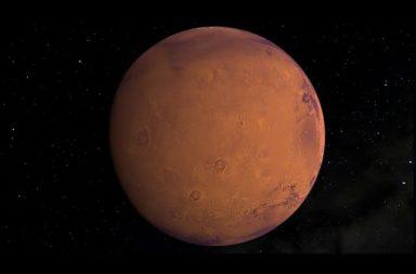المريخ نجا من 500 مليون سنة من الانفجارات البركانية الفائقة - منطقة في شمال المريخ تعرضت -في وقت ما- لآلاف الانفجارات القوية مدة تقارب 500 مليون سنة