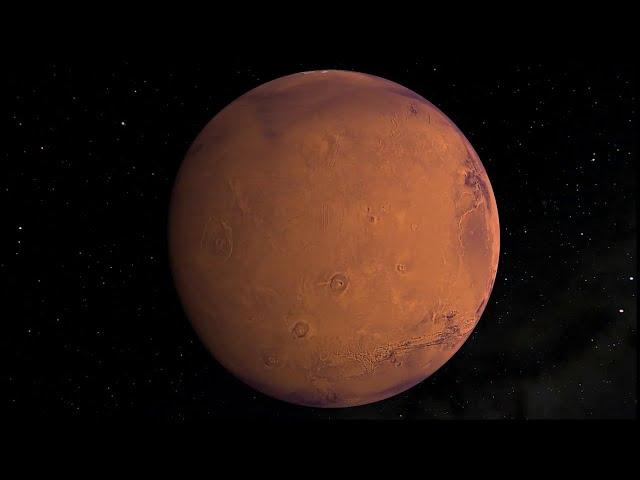 المريخ نجا من 500 مليون سنة من الانفجارات البركانية الفائقة
