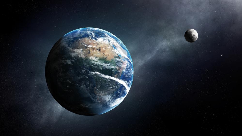هل كان القمر جرمًا بلا هدف أم درعًا يحمي مناخ الأرض من الشمس - ارتطام الكويكبات والأجرام السماوية الشاردة بكواكب المجموعة الشمسية الداخلية - القمر والأرض