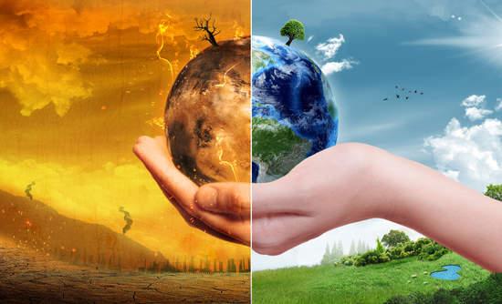 مجموعة من الحلول المقترحة من أجل الحد من التغير المناخي
