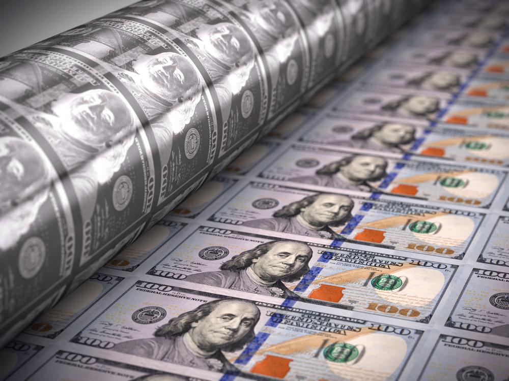 من يطبع النقود في الولايات المتحدة؟