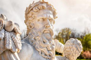 زيوس كبير الآلهة اليونانية: معلومات وحقائق - الإله الحاكم لمجمع الآلهة وإله الطقس والسماء الذي يقابله الإله الروماني جوبيتير