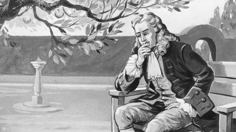 قف على أكتاف العمالقة – الجزء الثاني: إسحاق نيوتن