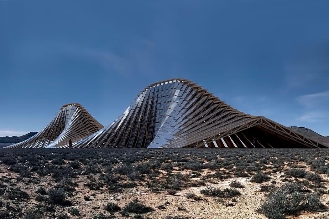 باستطاعة هذا الجبل الشمسي المهيب توليد الطاقة في أي موقع على الأرض