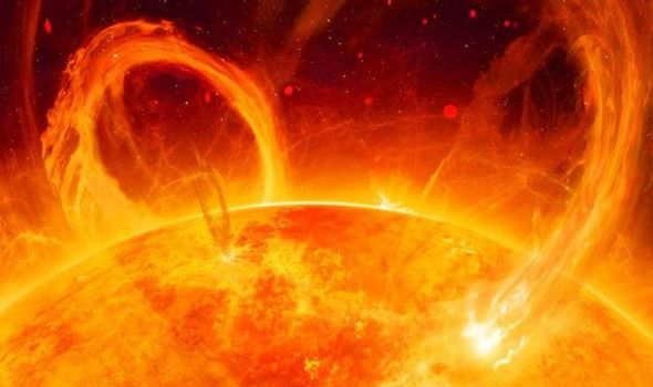إجراء قياسات على المولد الرئيسي الذي يمد الانفجارات الشمسية بالطاقة لأول مرة