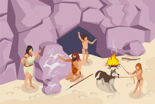 متى بدأ العصر الحجري ومتى انتهى وما هي الأدوات التي استخدمها البشر في تلك الفترة؟ ما هو الطعام الذي اعتاد البشر تناوله في العصر الحجري؟