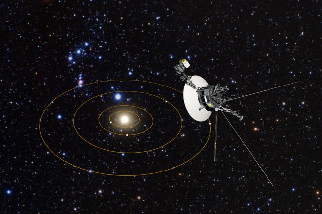 فوياجر 2 تغادر الغلاف الشمسي وتدخل الفضاء بين النجمي