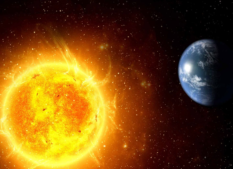 هل تدور الشمس حول نفسها؟