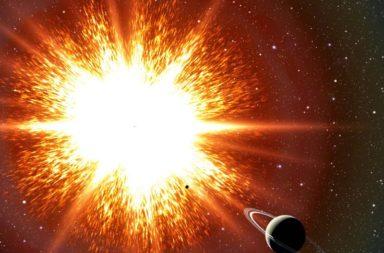 قد نشهد انفجار نجم ثنائي، في حياتنا هذه - قد نشهد انفجار النجم الثنائي ڤي ساچيتاي (V Sge) في حياتنا هذه - انفجار نجم قزم أبيض