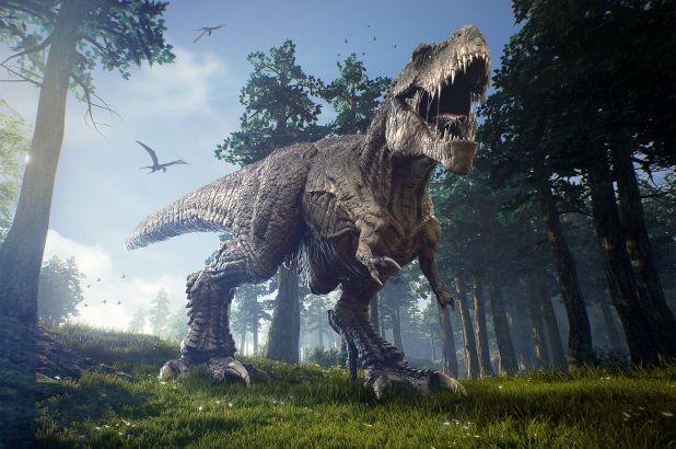 اكتشاف ابن عم للديناصورات تي ريكس