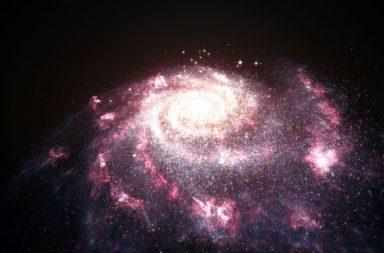 تحديد أصل فقاعات الغاز الضخمة التي تطفو خارج مجرة درب التبانة - فقاعات فيرمي - النظر إلى قلب درب التبانة عبر جزء من الطيف الضوئي المرئي