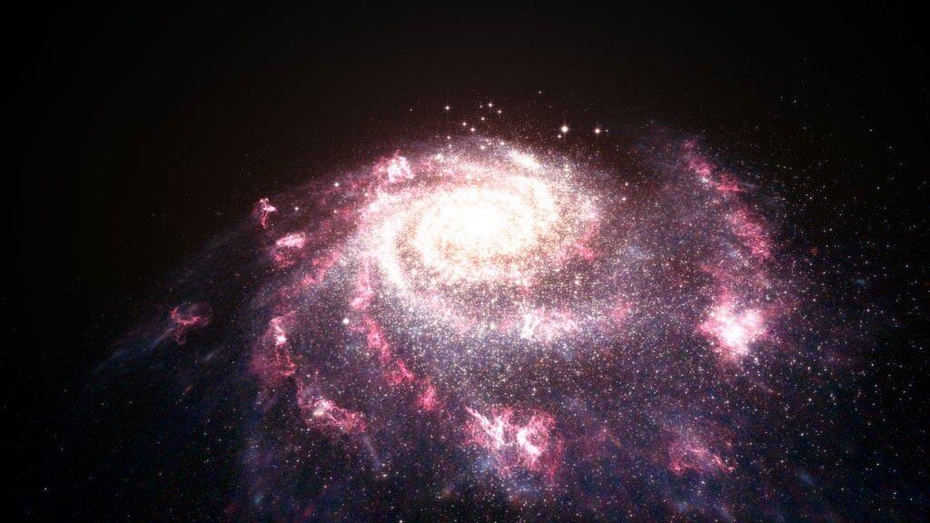 تحديد أصل فقاعات الغاز الضخمة التي تطفو خارج مجرة درب التبانة