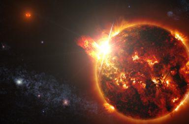 أشهر نجوم مجرتنا قد تهيئ الحياة للبشر أكثر مما كنا نعتقد - الأقزام الحمراء وقابليتها لدعم نشوء الحياة - التوهجات النجمية الاتجة عن الأقزام الحمراء