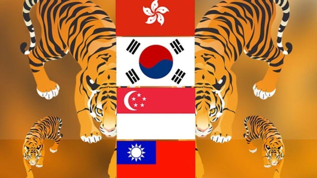 النمور الآسيوية الأربعة