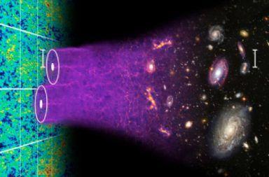 الخط الزمني لنشوء الكون فترة خلق الباريونات باريون ما هي الباريونات النيوترونات البروتونات التناظر المعياري النموذج المعياري