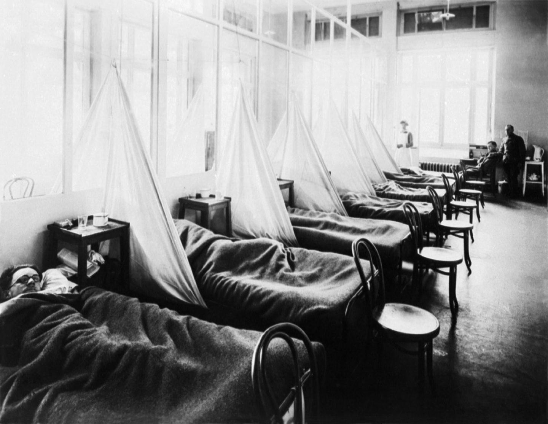 أحوال جوية غير عادية أثرت في وفيات الحرب العالمية الأولى وجائحة الإنفلونزا الإسبانية