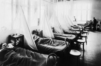 أحوال جوية غير عادية أثرت في وفيات الحرب العالمية الأولى وجائحة الإنفلونزا الإسبانية - أمطار غزيرة ودرجات حرارة شديدة الانخفاض