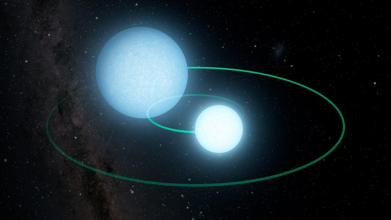 أقزام بيضاء مكتشفة حديثًا تعد مصدرًا لموجات الجاذبية