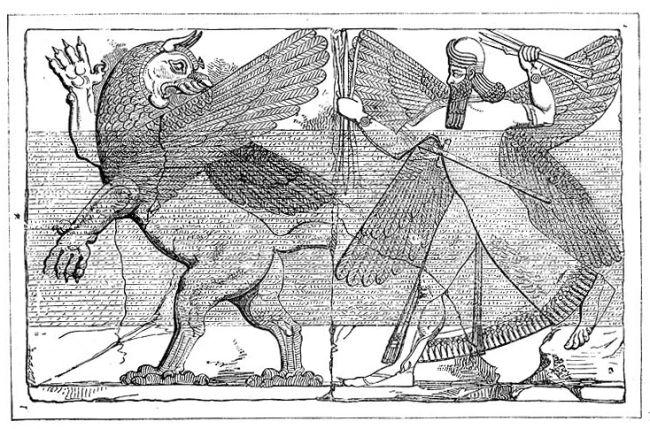 معركة مردوخ مع أنزو: النهضة الآشورية
