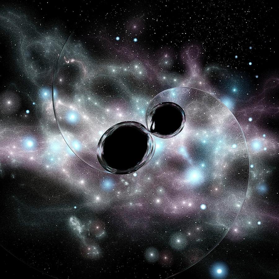 هل ما زال في كوننا أي ثقوب سوداء متبقية من الانفجار العظيم - ماذا سيكون شكل الكون إذا غمر بالثقوب السوداء الأولية - موجات جاذبية - الثقوب السوداء الأولية