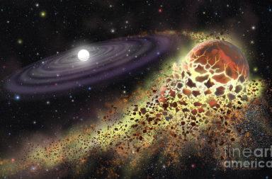 لماذا تمتزج أشلاء الكواكب في مدار القزم الأبيض؟ ما الذي سيحدث للكواكب ومن بينها الأرض بعد تحول الشمس لقزم أبيض؟ - الأقزام البيضاء تستطيع تمزيق الكواكب