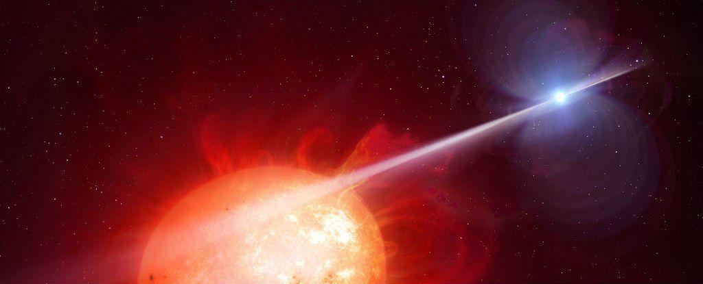 """اكتشاف اول """" قزم ابيض نابض """" في تاريخ الكون المرئي"""